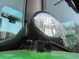 Two rear fender work lights – HB3