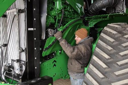 Performing routine maintenance tasks