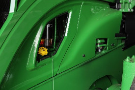 Engine oil service point