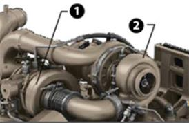 Series turbochargers