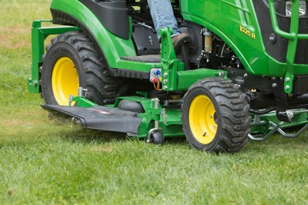 Mid-mower lift system options