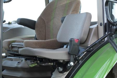 Air suspension seat