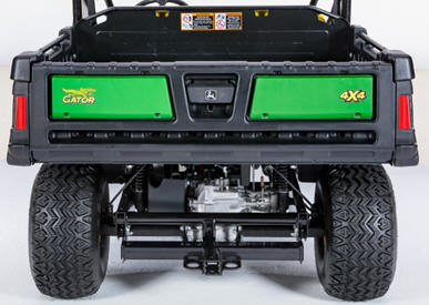 Heavy-duty rear suspension