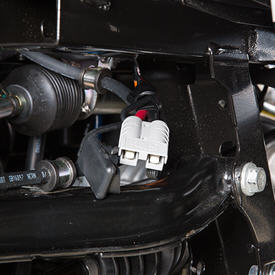 Main vehicle harness – winch connection