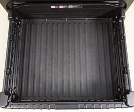 Top view of cargo box