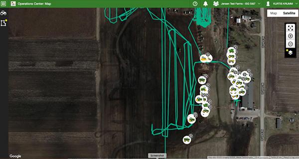 Visualize o histórico de localização da sua frota