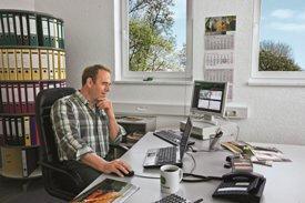 Uso das ferramentas de gerenciamento do JDLink a partir do escritório