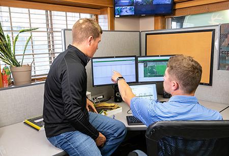 Use a plataforma digital para melhorar as operações e as decisões de condução