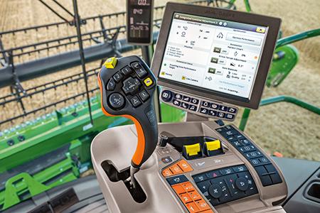 O monitor permite que os operadores visualizem informações importantes