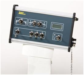 Unidade de controle de taxas manual digital