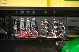 Componentes do chicote elétrico