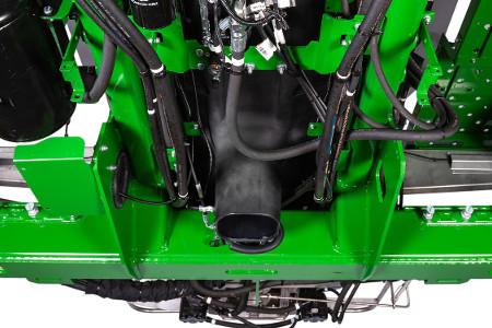 Funil de polietileno reduz contato do fertilizante com os componentes da máquina