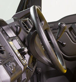 Inclinação do volante (posicionado para baixo)