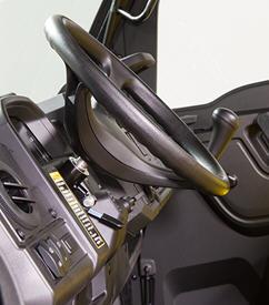 Inclinação do volante (posicionado para cima)