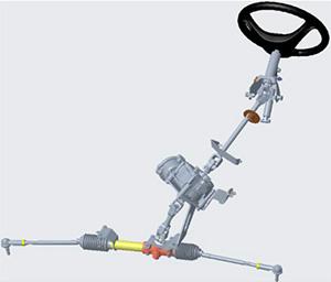 Sistema de direção com assistência elétrica
