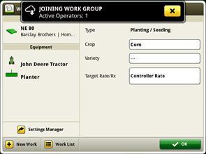Intégration d'un groupe de travail