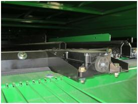 Réglage à distance du système de nettoyage Dyna-Flo Plus