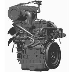 Schéma du moteur des modèles1570, 1575, 1580 et 1585