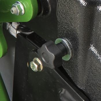 Bouton de protection du radiateur