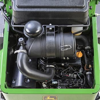 Moteur diesel à troiscylindres
