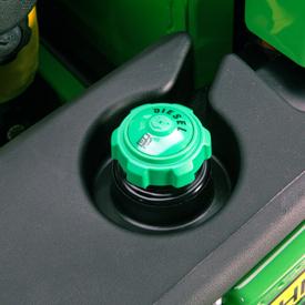 Bouchon du réservoir de diesel