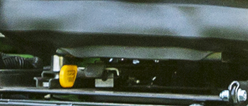 Levier de commande de suspension longitudinale ComfortGlide