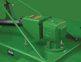 Garantie de cinqans sur tous les boîtiers d'engrenages de faucheuse rotative