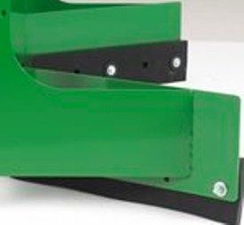 Bord en caoutchouc pour décapeuse pour logettes de la sérieAS11E.