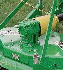 Les ailettes de refroidissement prolongent la durée d'utilisation du boîtier d'engrenages