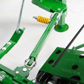 Solidifié pour une durée d'utilisation accrue et une meilleure protection de la barre de coupe