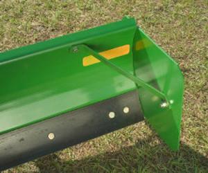 Plaque d'extrémité en option sur la lame arrière RB24