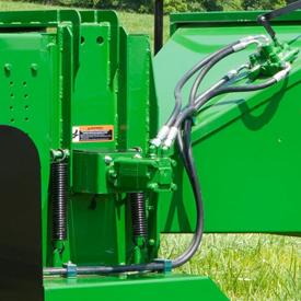 Bâti de rouleau d'alimentation hydraulique de la sérieWC12