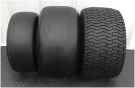 Autres options de pneus et de roues pour les tâches d'entretien des gazons