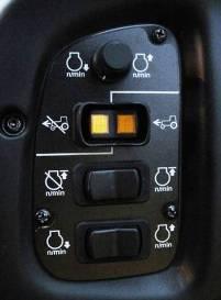 Commande d'accélérateur multimode