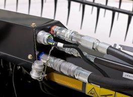 Raccords hydrauliques et électriques aux modèles 400D
