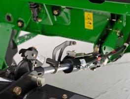 Option de barre de poussée hydraulique à verrouillage automatique