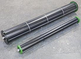 Déflecteur de compression à rouleau du système MegaWide HC<sup>2</sup> et déflecteurs de compression à rouleau du système MegaWide Plus