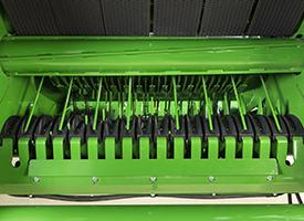 Rotor secondaire du système MegaWide HC<sup>2</sup> de la chambre de formation des balles