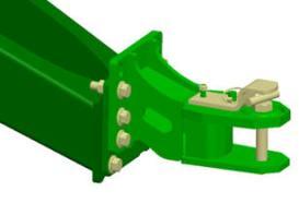 Position 1 (haute): (réglages d'usine) – ramasseurs traditionnels