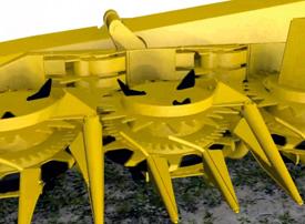 Image fixe d'une animation du flux de récolte
