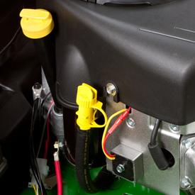 Tube de contrôle du niveau et de remplissage d'huile et tube de vidange d'huile