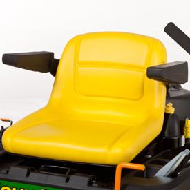 Siège confortable (modèleZ355E illustré)