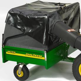 Sac récupérateur d'herbe sur remorqueMC519