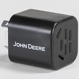 Connecteur de compteur d'heures (côté douille illustré)