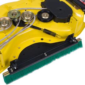 Machine d'entretien de pelouses similaire illustrée - vue du dessus