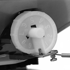 Commande de débit Dial-A-Matic
