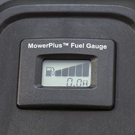 Jauge de carburant facile à lire