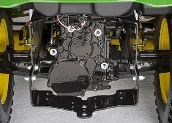 Boîte-pont à deux roues directrices présentée sur le X758
