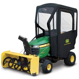 Abri contre les intempéries pour les tracteurs X300 et X500 M-T