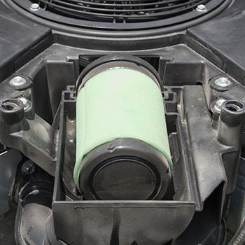 Couvercle du filtre à air déposé
